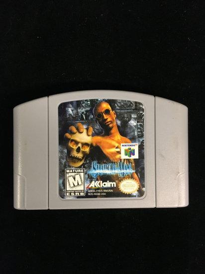 N64 Nintendo 64 Shadow Man Video Game Cartridge