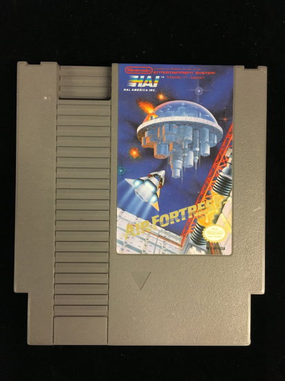NES Nintendo Air Fortress Video Game Cartridge