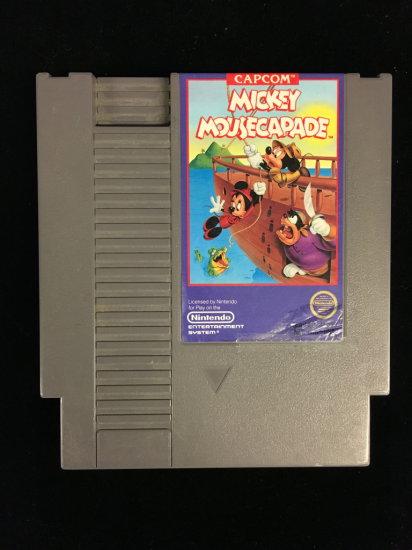 NES Nintendo Mickey Mousecapade Video Game Cartridge