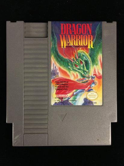 NES Nintendo Dragon Warrior Video Game Cartridge