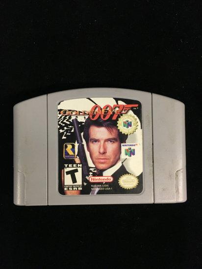N64 Nintendo 64 Golden Eye 007 Video Game Cartridge