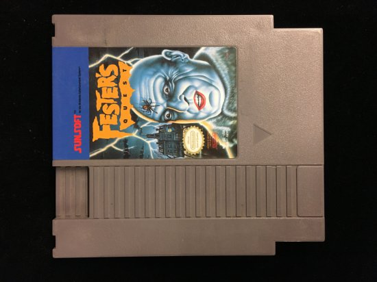 NES Nintendo Fester's Quest Video Game Cartridge