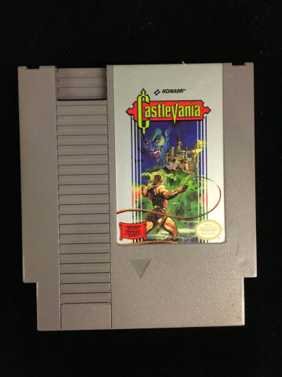 NES Nintendo Castlevania Video Game Cartridge