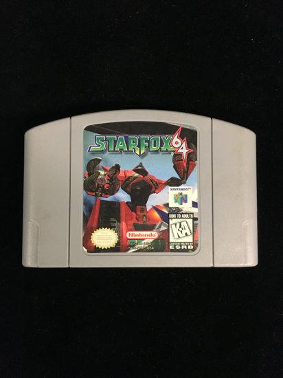 N64 Nintendo 64 Star Fox 64 Video Game Cartridge