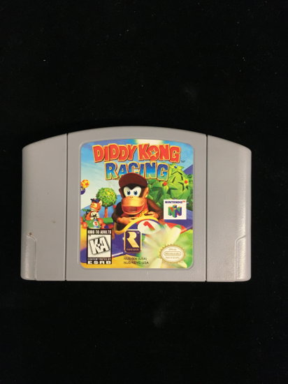 N64 Nintendo 64 Diddy Kong Racing Video Game Cartridge