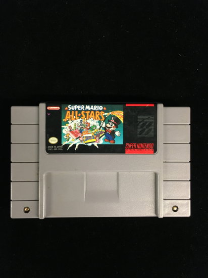 NES Nintendo Super Mario All Stars Video Game Cartridge