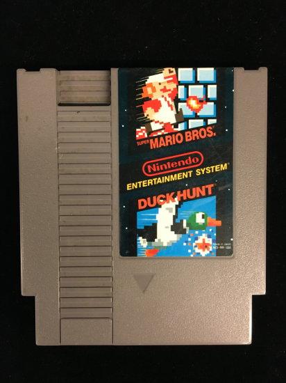 NES Nintendo Super Mario Bros. Duck Hunt Video Game Cartridge