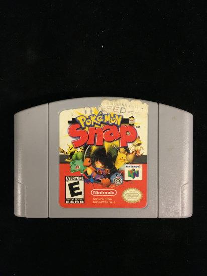 N64 Nintendo 64 Pokemon Snap Video Game Cartridge