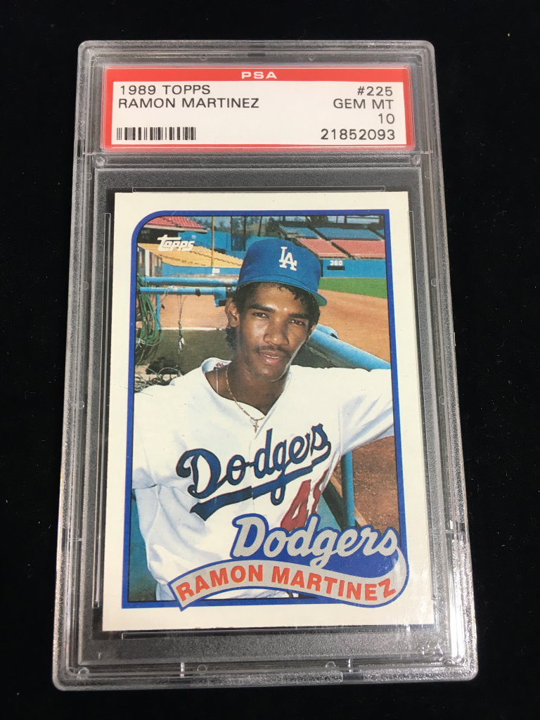 Lot Psa Gem Mint 10 1989 Topps Ramon Martinez Dodgers