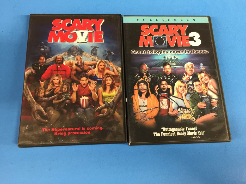 2 Movie Lot Funny Horror Scary Movie 3 Scary Movie 5 Dvd Computers Electronics Tv Video Audio Other Tv Video Audio Auctions Online Proxibid