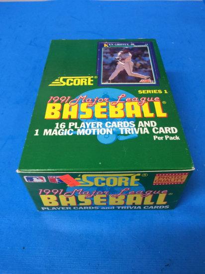 1991 Score Baseball Series 1 3 Auctions Online Proxibid