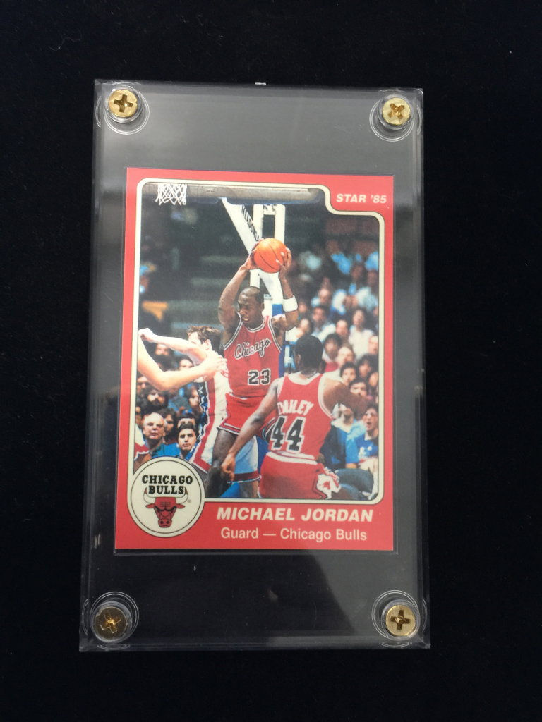 1984 85 Star 101 Michael Jordan Bulls Rookie Card See