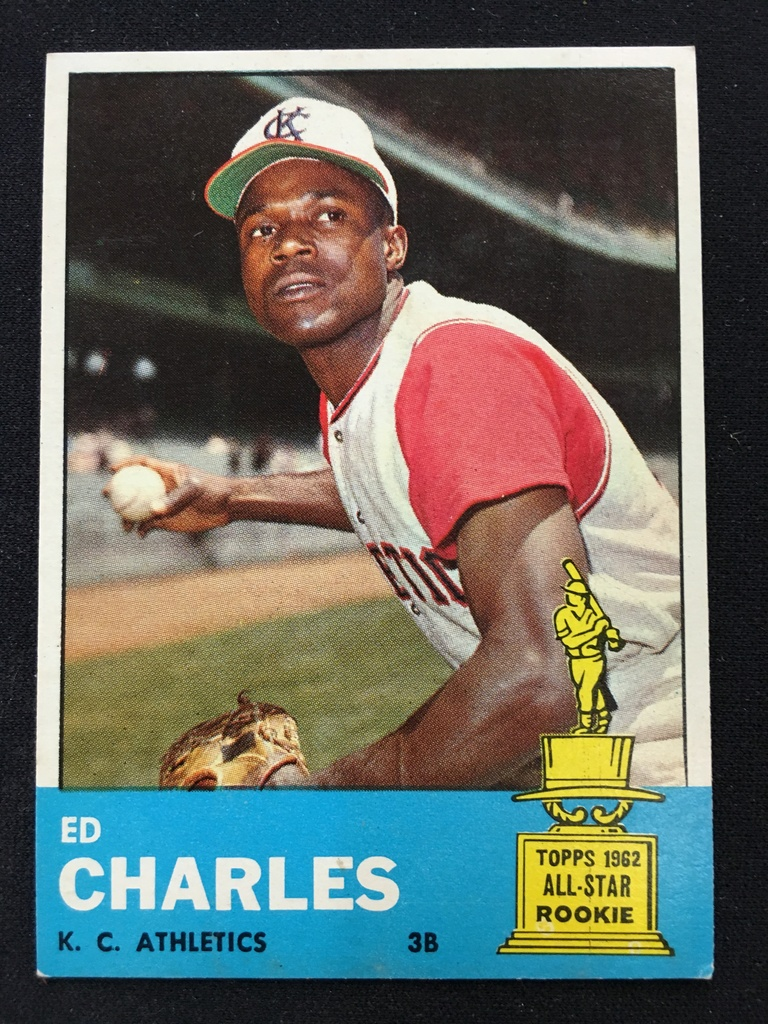 5/22 1963 Topps Baseball Card Auction