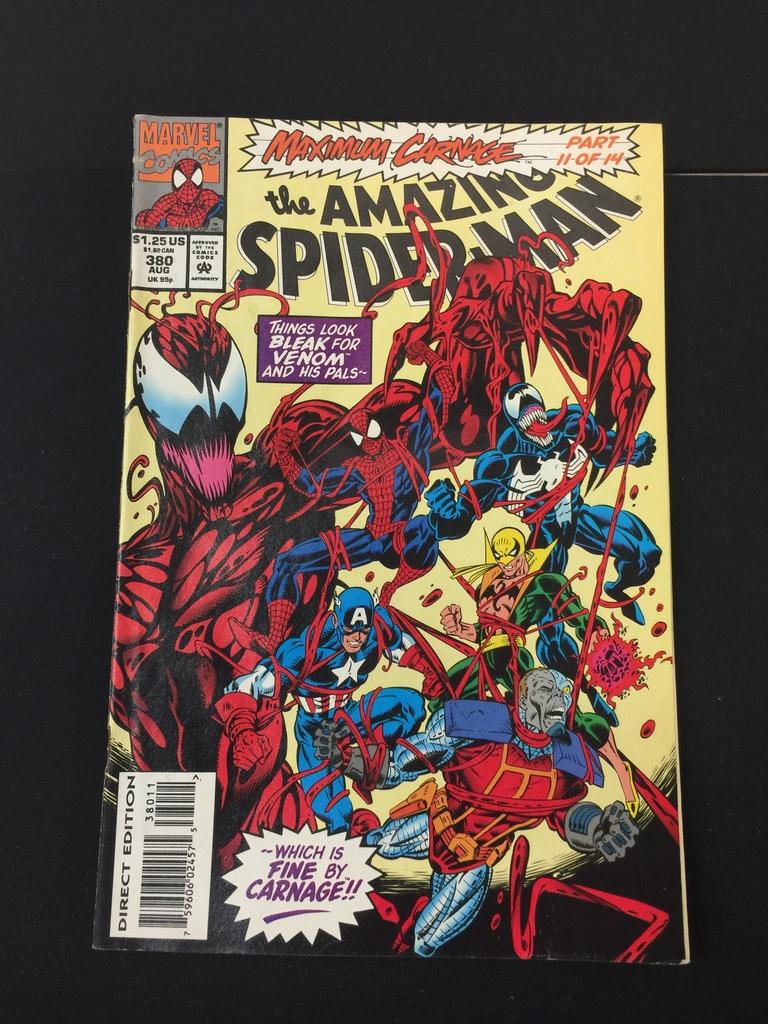 5/25 Marvel Spiderman Comic Book Auction