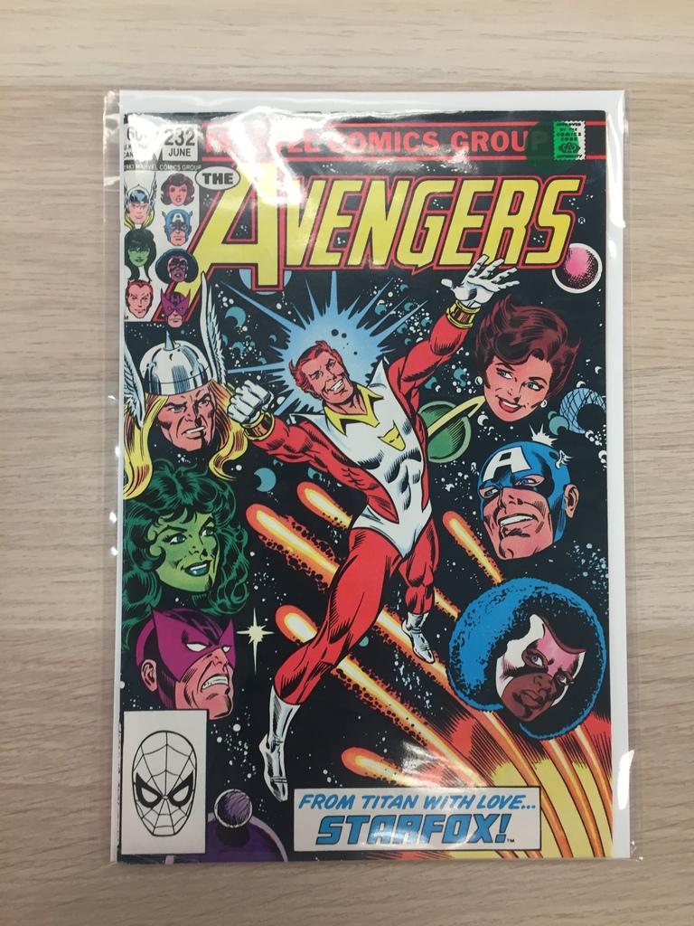 5/26 Avengers Comic Book Auction