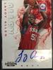 2012/13 Panini Lavoy Allen 76ers Rookie Autograph Card