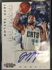 2012/13 Panini Jeff Taylor Bobcats Rookie Autograph Card