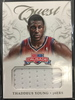 2012/13 Panini Thaddeus Young 76ers Jersey Card