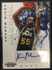2012/13 Panini Kevin Murphy Jazz Rookie Autograph Card