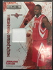 2009 Panini Jermaine Taylor Rockets Rookie Jersey Card /299