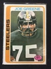 1978 Topps #295 Mean Joe Greene Steelers Vintage Football Card