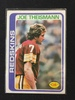 1978 Topps #416 Joe Theismann Redskins Vintage Football Card