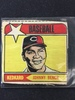 "Unknown Year Johnny Bench Cincinnati Reds ""Kedkard"" Cutout Baseball Card"