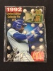Rare 1992 McDonalds Ken Griffey Jr. Seattle Mariners Pin on Card