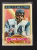 1980 Topps #520 Dan Fouts Chargers Vintage Football Card