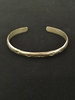 Old Pawn Hand-Etched Sterling Silver Cuff Bracelet