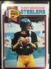 1979 Topps #500 Terry Bradshaw Steelers Vintage Football Card