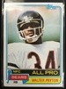 1981 Topps #400 Walter Payton Bears Vintage Football Card