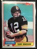 1981 Topps #375 Terry Bradshaw Steelers Vintage Football Card