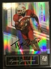 2007 Donruss Elite Tymere Zimmerman Rookie Autograph Football Card /100