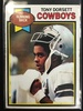 1979 Topps #160 Tony Dorsett Cowboys Vintage Football Card