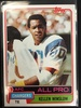 1981 Topps #150 Kellen Winslow Chargers Vintage Rookie Football Card