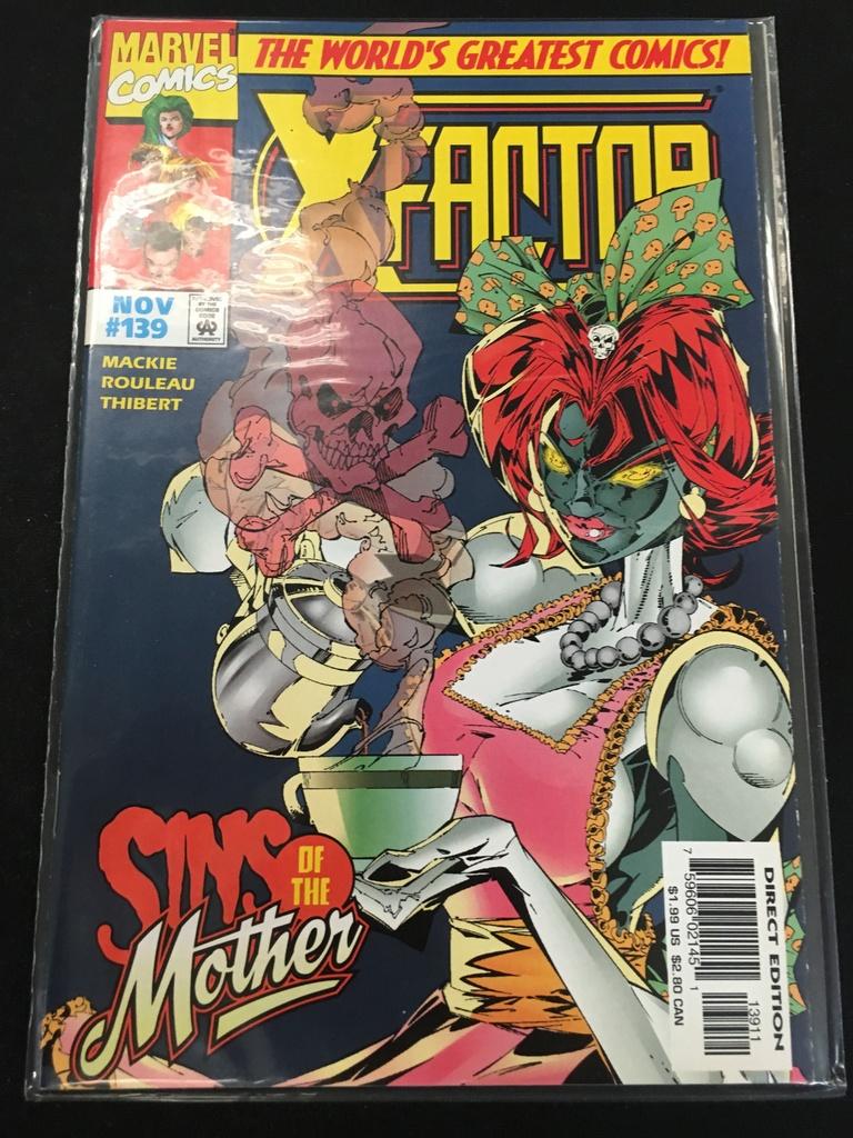 7/26 Amazing Comic Book Auction (Marvel X Factor)