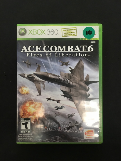 Xbox 360 Ace Combat 6 - Fires     Auctions Online   Proxibid