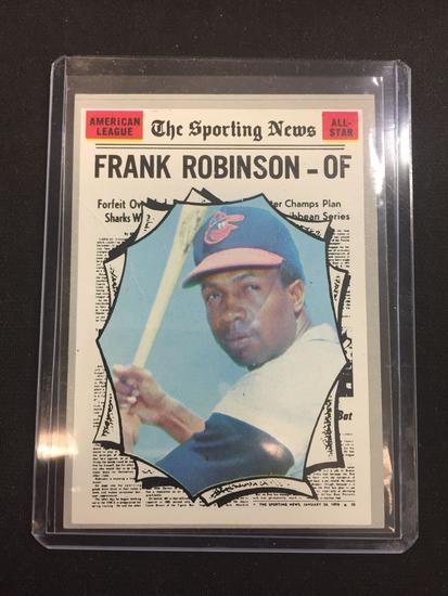 1970 Topps 463 Frank Robinson Orioles All Star Vintage