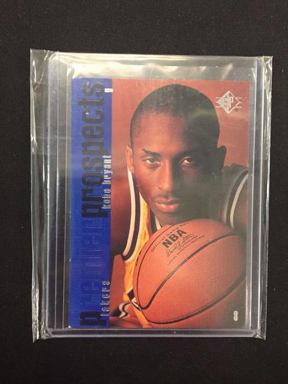 1996 97 Sp Kobe Bryant Lakes Rookie Basketball Card
