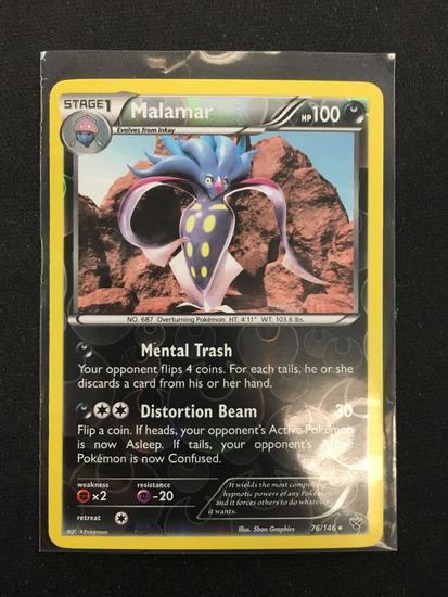 POKEMON XY MALAMAR 76/146 RARE Verzamelingen Pokémon