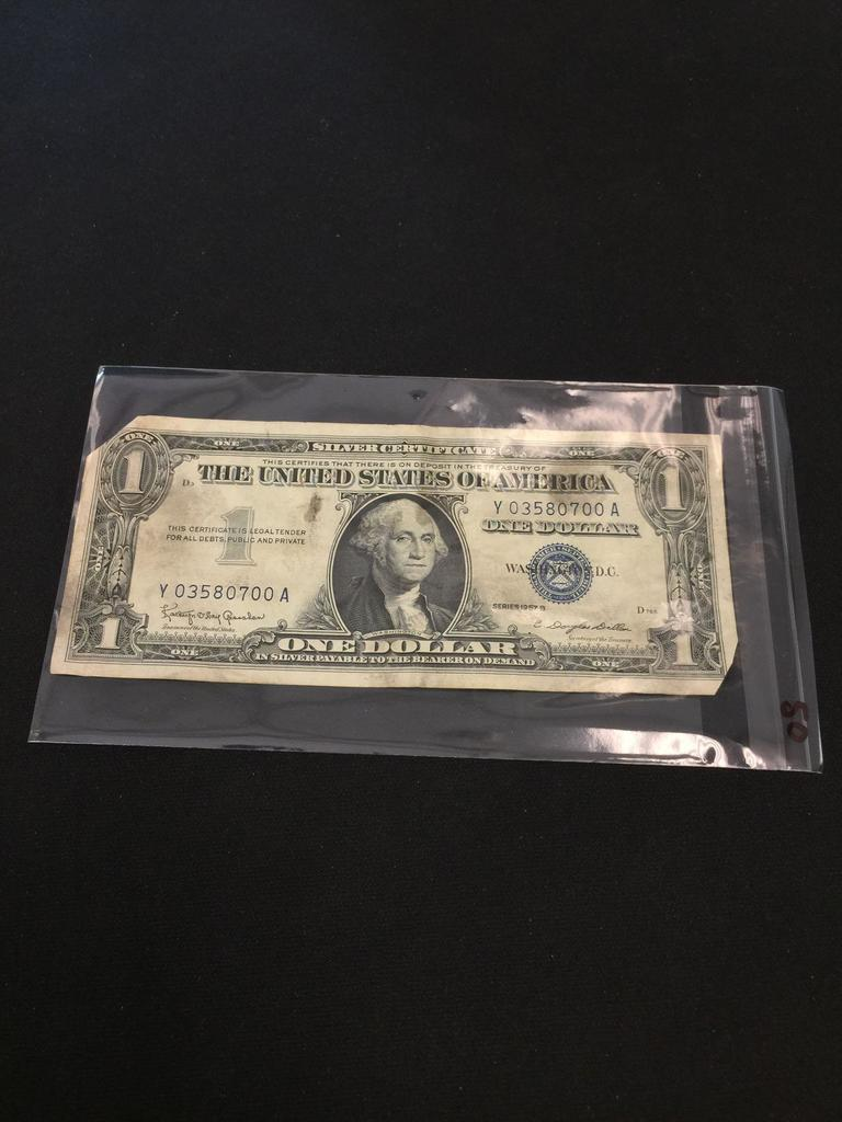 11/21 Daily Paper Currency Auction