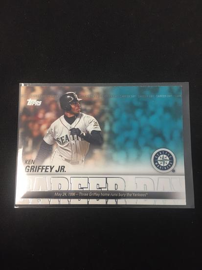 2012 Topps Career Day Ken Griffey Jr Mariners Baseball Card