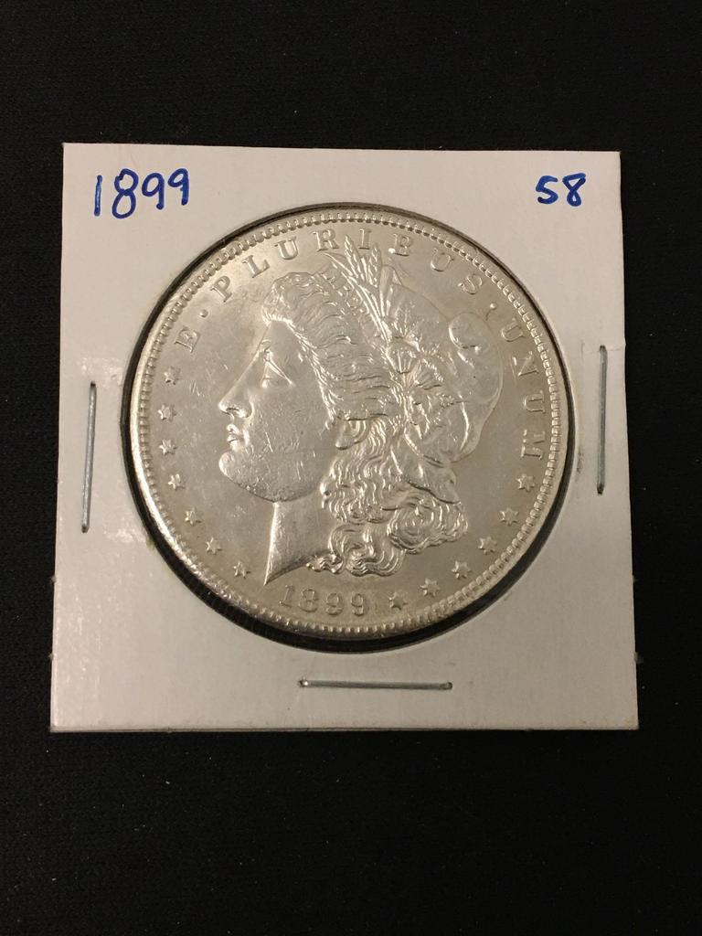 1/19 Amazing Morgan Silver Dollar Auction