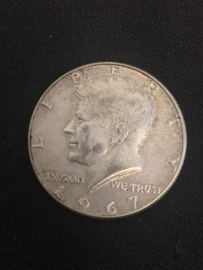 1967 United States Kennedy Half Dollar - 40% Silver Coin