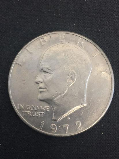 1972-D United States Eisenhower Dollar