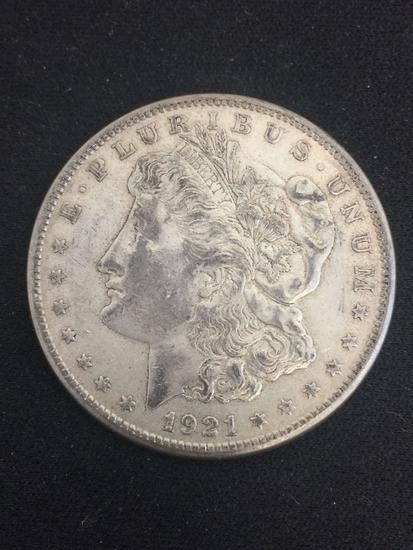 1921-S United States Morgan Silver Dollar - 90% Silver Coin