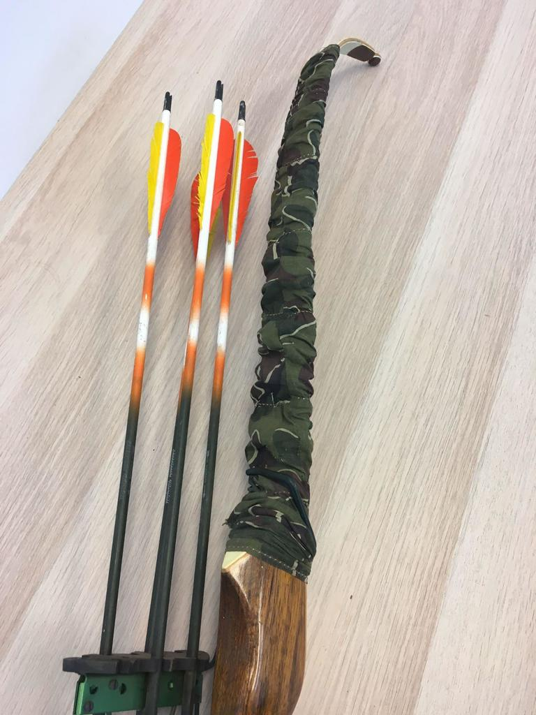 GRAYLING USA MADE BEST MADE />/>/> ARCHERY -BOWS 7 ARROW BOW QUIVER NEW