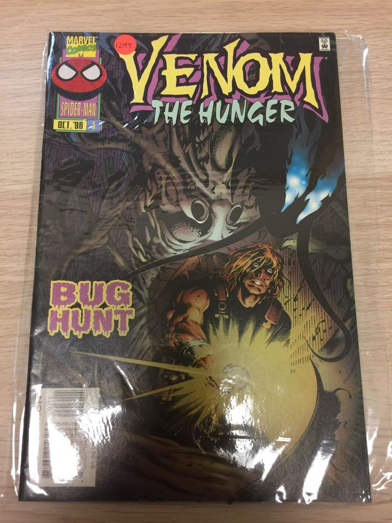 Lot: Marvel Comics, Venom The Hunger #3-Comic Book