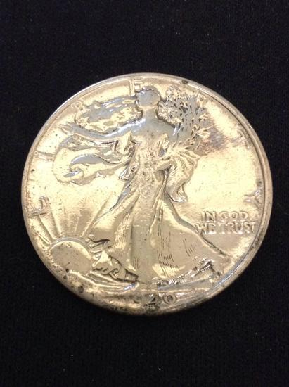 1940 United States Walking Liberty Silver Half Dollar - 90% Silver Coin from Collection